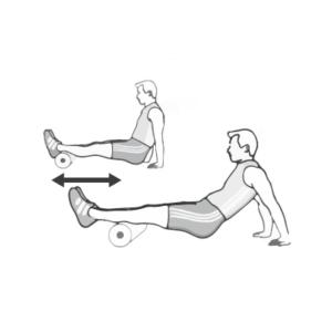 Faszienmassage 6 - Hintere Oberschenkelmuskulatur