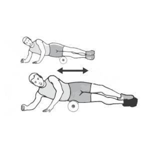 Faszienmassage 5 - Seitliche Oberschenkelmuskulatur