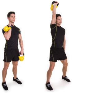 Abwechselndes-Schulterdrücken-mit-Kettlebells