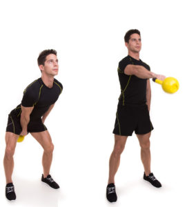 One Hand Swing mit Kettlebell