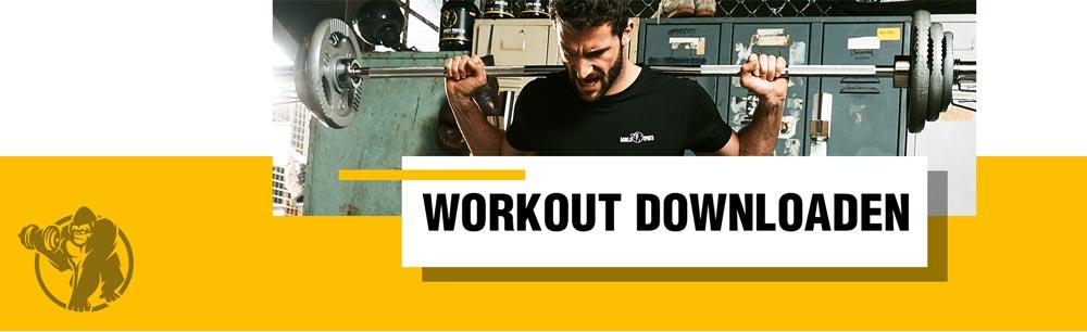 Krafttraining Workout Plan