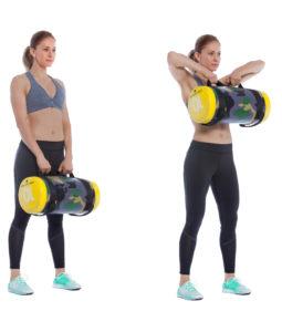 Sandsack Training Frontziehen