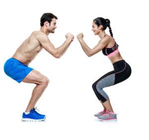 Partner Workout Spaß