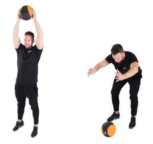 Ballwurf mit Medizinball