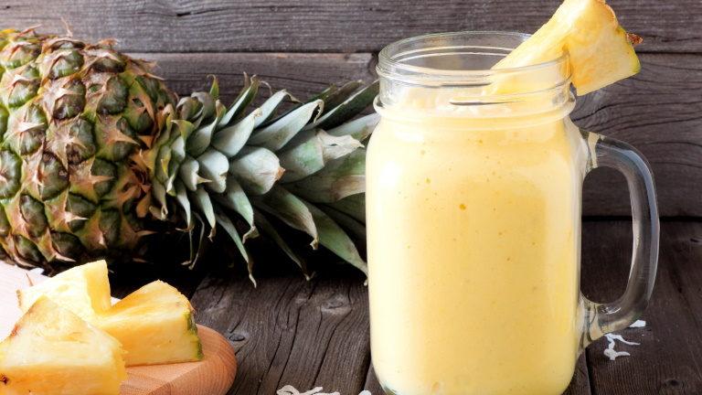 Ananas Protein Shake