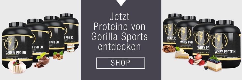 Eiweißpulver von Gorilla Sports