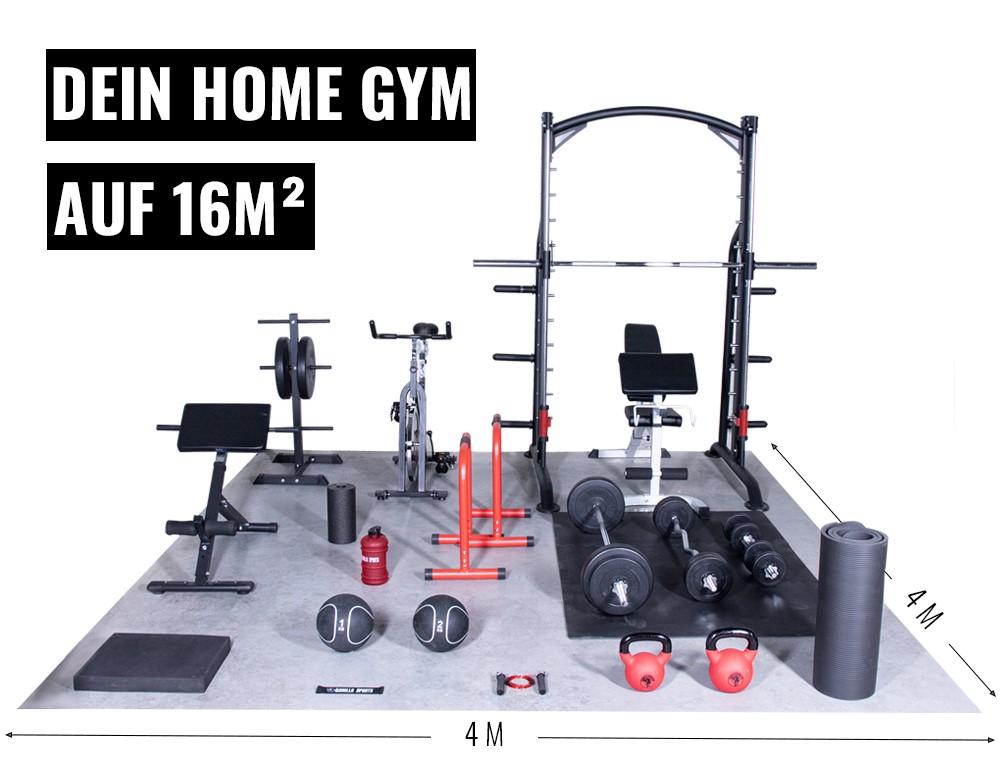 Home Gym einrichten 16qm2
