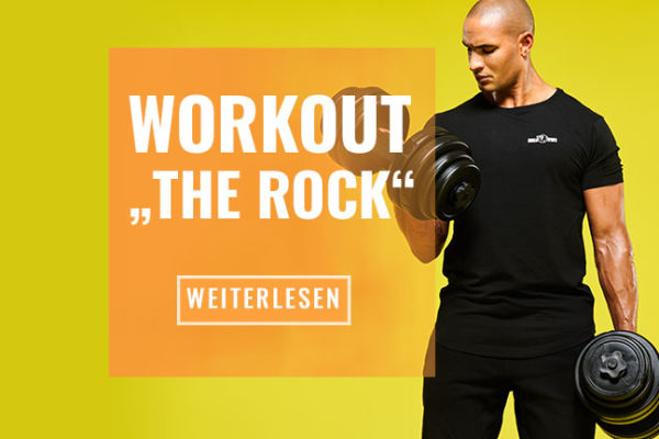 "Dwayne ""The Rock"" Johnson Trainings- und Ernährungsplan"