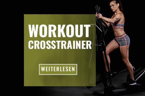 Crosstrainer Training: Mehr Ausdauer und weniger Körperfett!