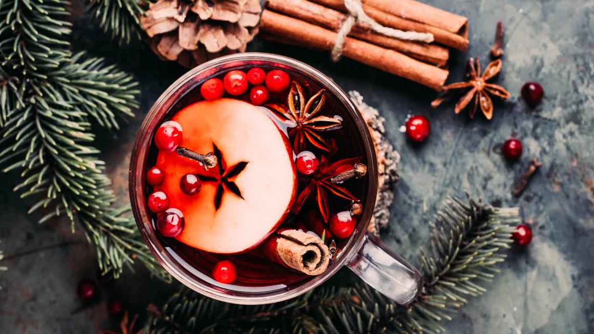 Apfel-Cranberry-Glühwein Rezept