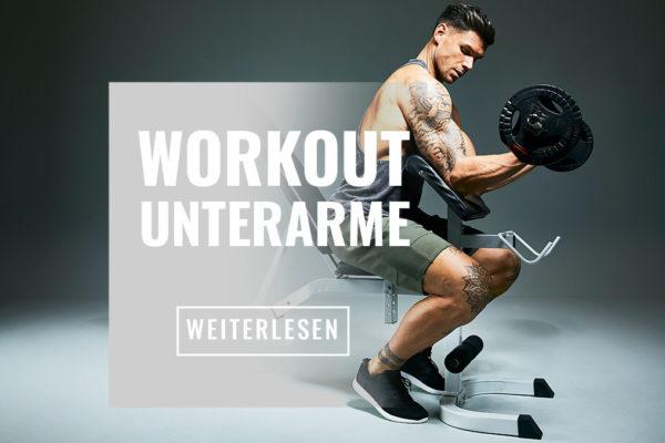 Effektives Unterarmtraining für massive und starke Unterarme