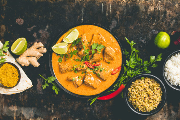 Schnelles Chicken-Curry