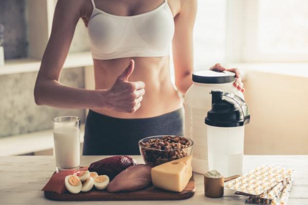 Muskelaufbau mit richtiger Ernährung