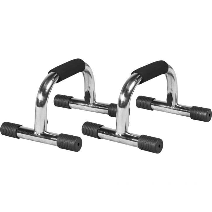 Push up Bar Chrom/Schwarz