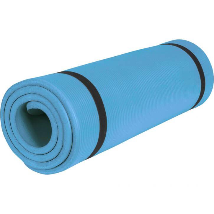 Yogamatte Blau 190 x 60 x 1,5 cm