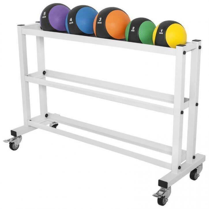 Medizinballset + Medizinballablage Set 15 kg