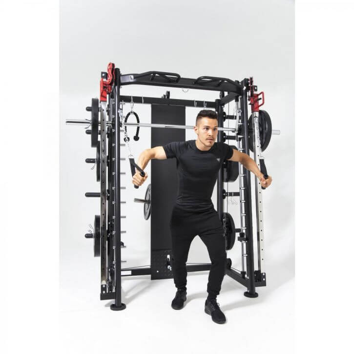 Multifunction Smith Machine Schwarz