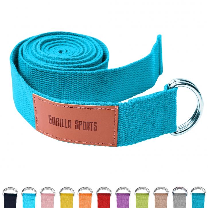 Yogagurt in verschiedenen Farben