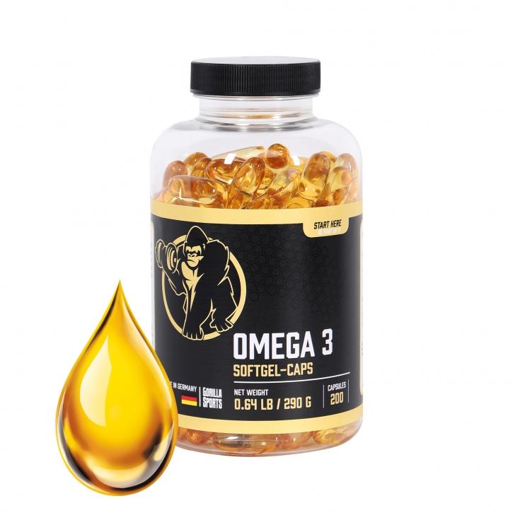 Omega-3 Kapseln 200 Stck.