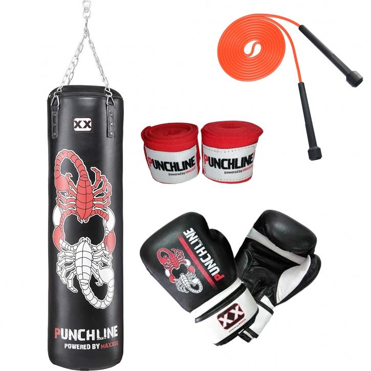 Hancend Leeres Training Boxhaken Kick Sandsack Fight Karate Punch Punching Sandsack Sandsack 4 Gr/ö/ßen f/ür Kinder Erwachsene