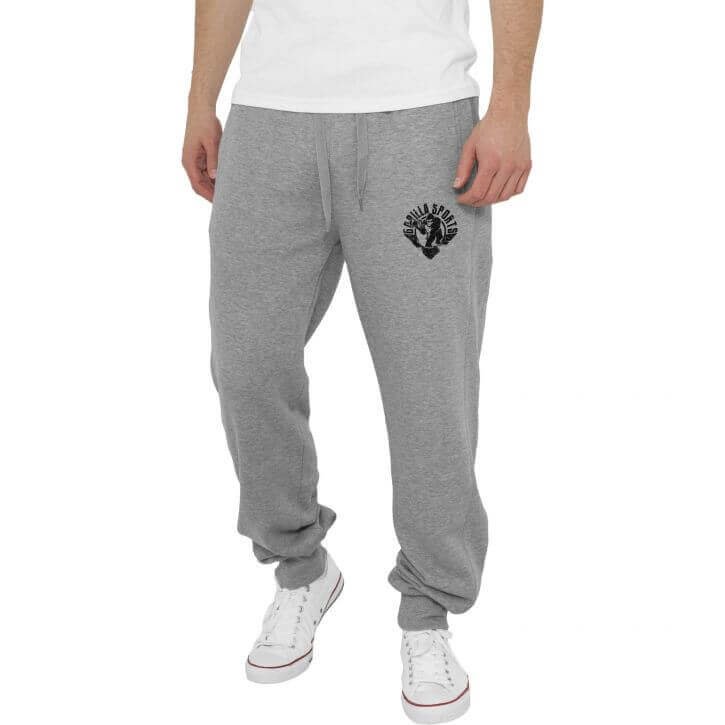 Gorilla Straight Fit Sweatpants Grau/Schwarz S