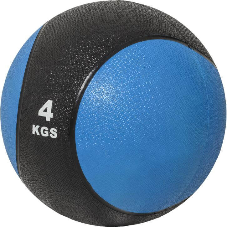 Medizinball aus Gummi 4 kg
