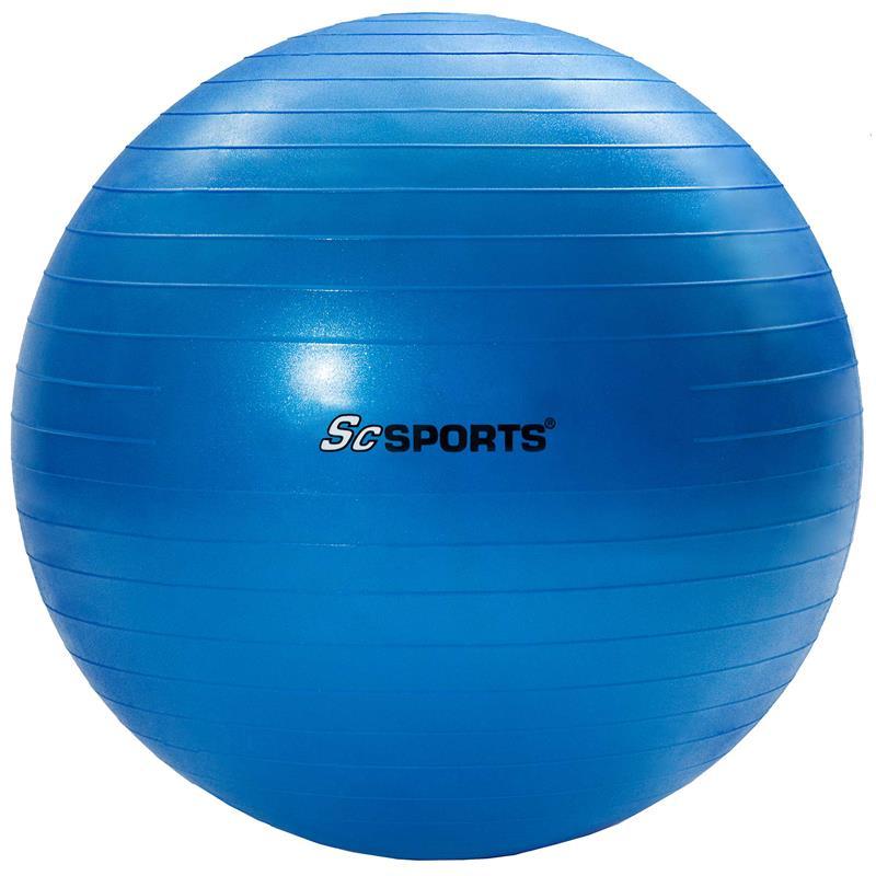 ScSPORTS Gymnastikball blau 55 cm SC-100387-417