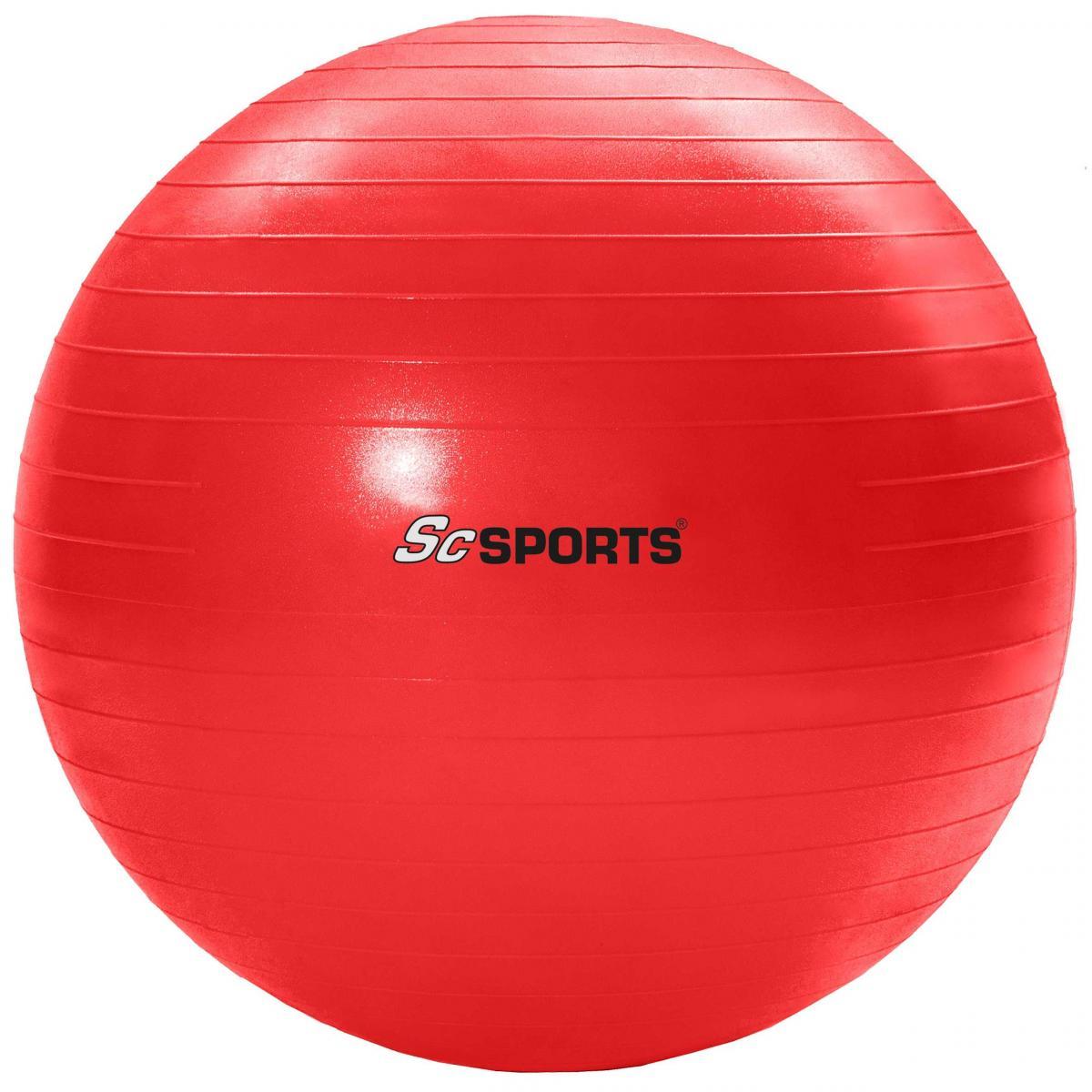 ScSPORTS Gymnastikball rot 65 cm SC-100396-350