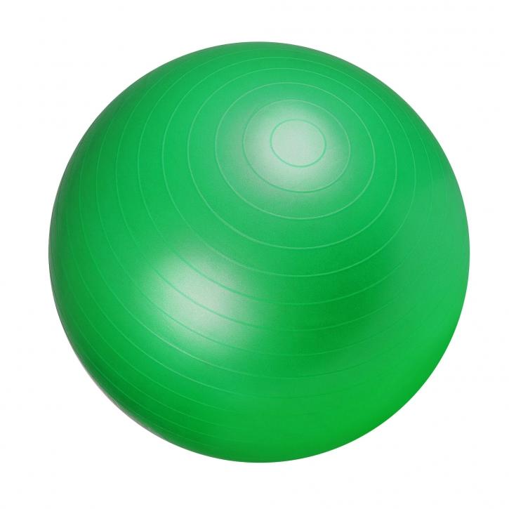 Gorilla Sports Gymnastikball 75 cm Grün Luftpumpe 100490-00034-0061