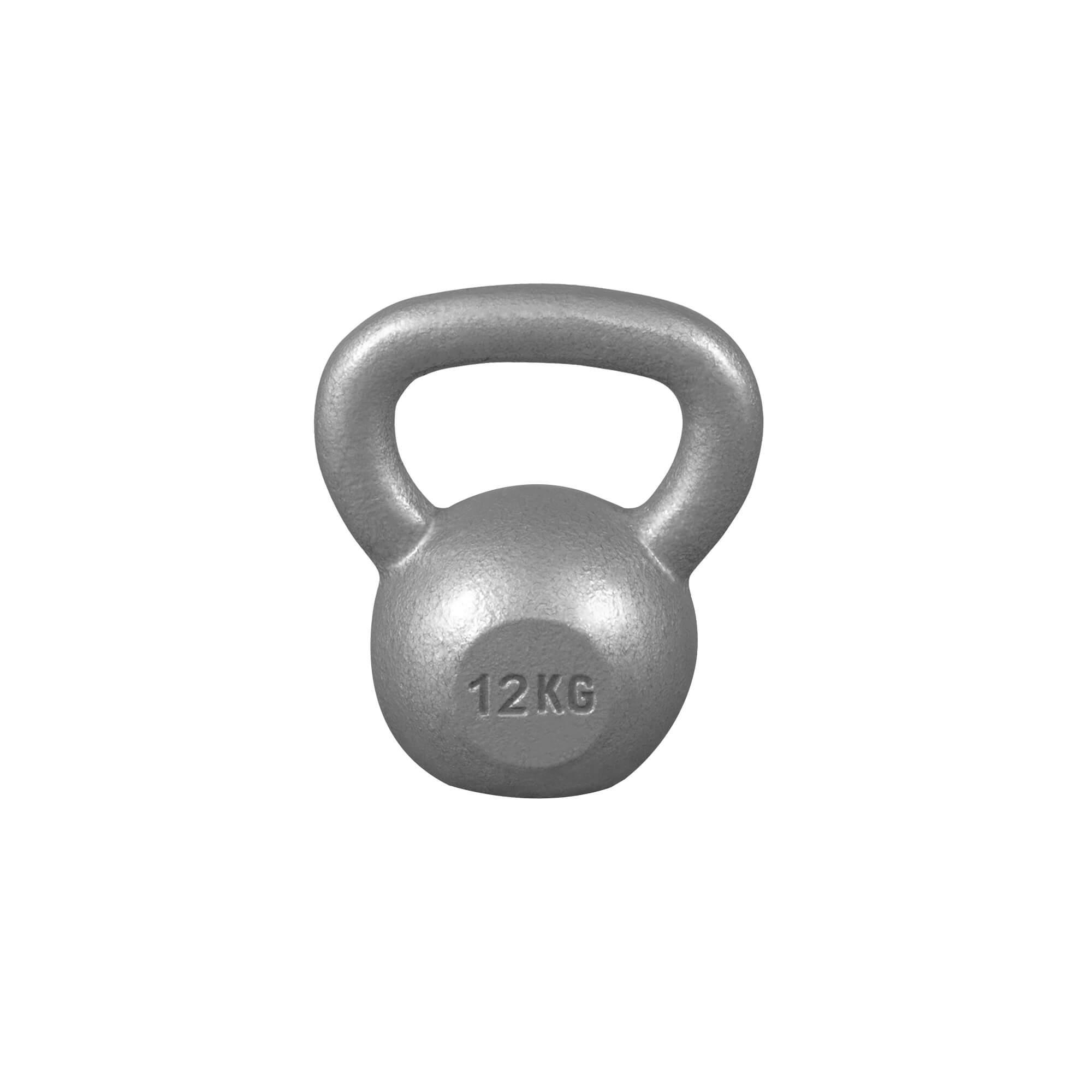 Gorilla Sports Kettlebell aus Gusseisen 12 kg 100338-00002-0017