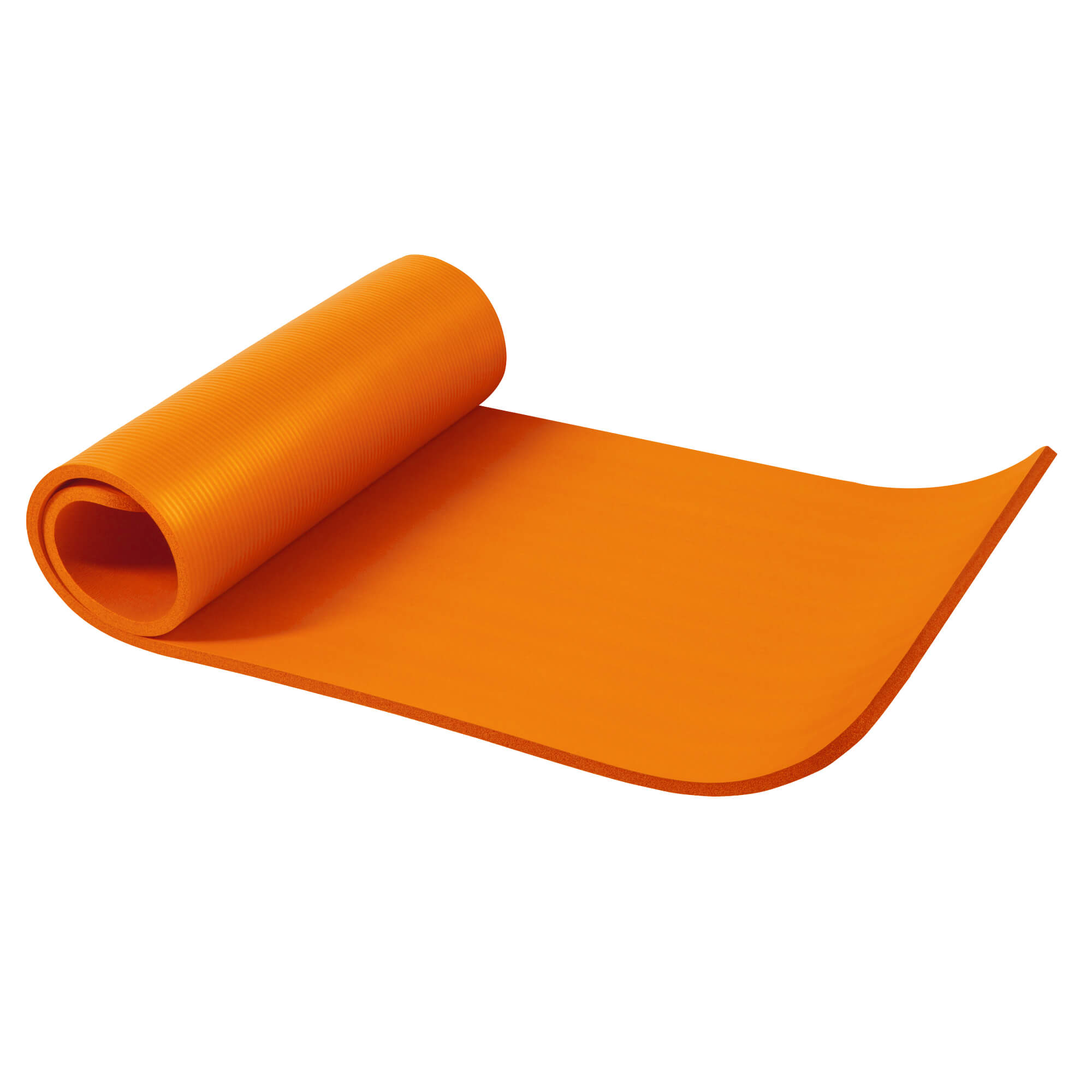 Yogamatte Orange 190 x 60 x 1,5 cm