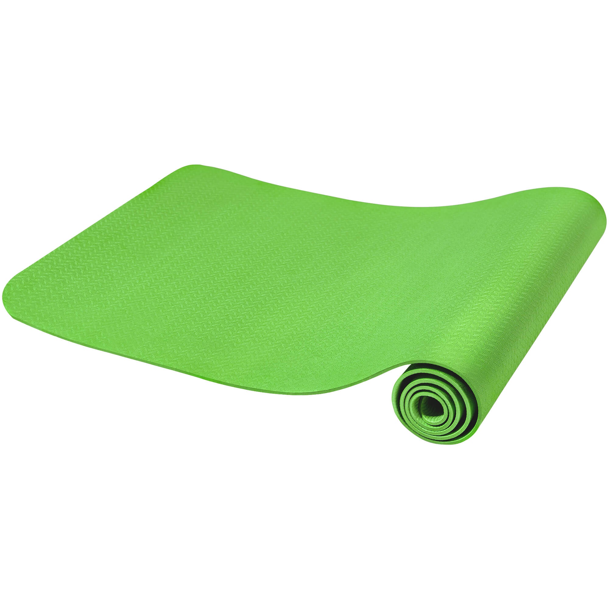 Yogamatte Dünn Limegreen 4 mm