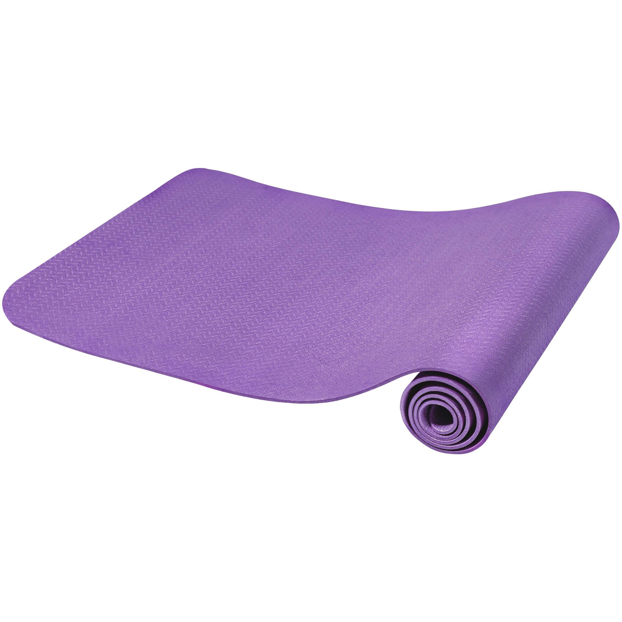 Gorilla Sports Yogamatte Dünn Purple 10 mm 100815-00040-0072