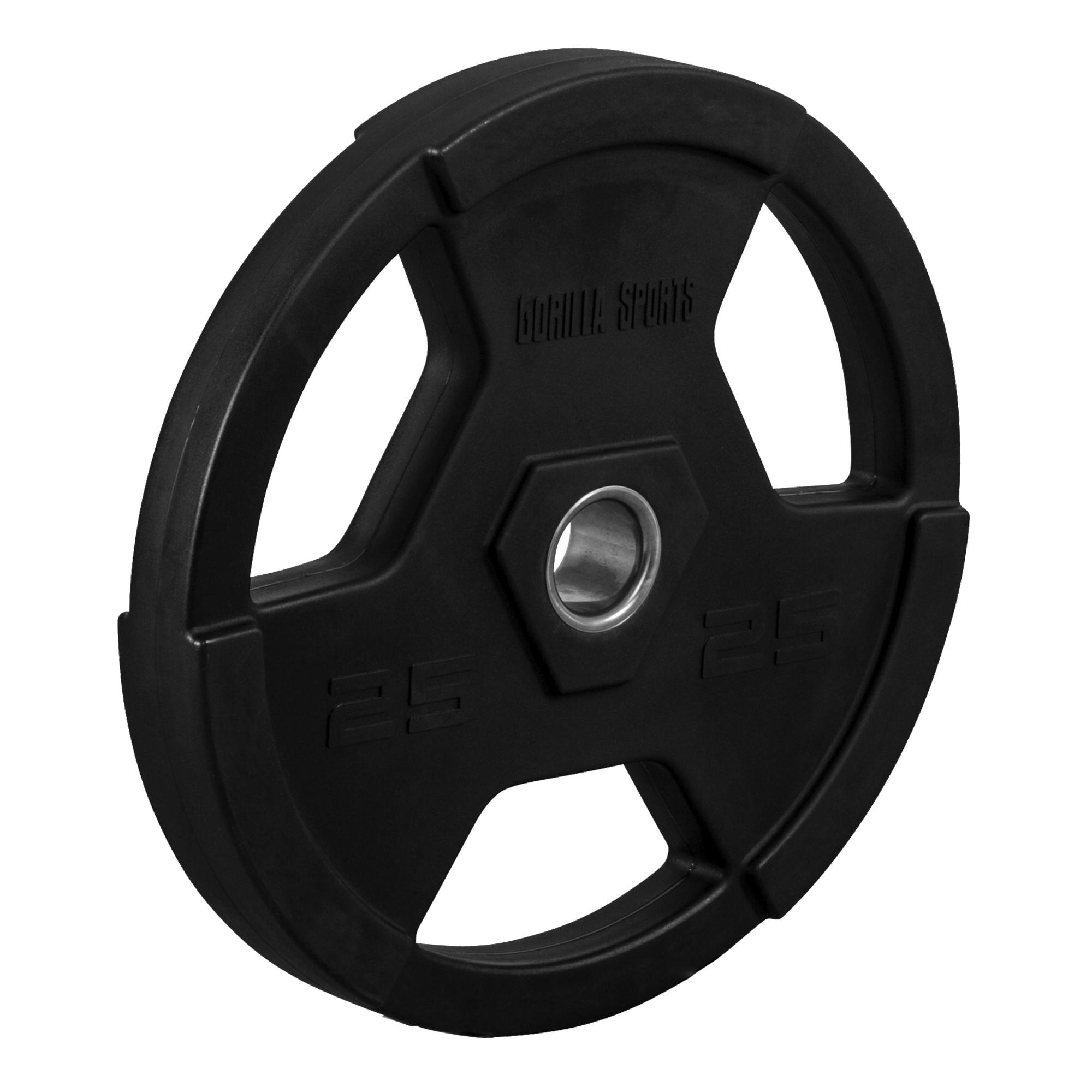 Gorilla Sports Hantelscheibe 50mm Kunststoff 25 kg 100951-00019-0029