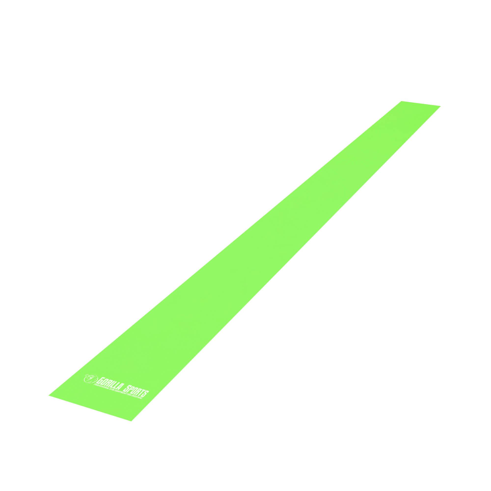 Fitnessband Latex Grün 120 cm