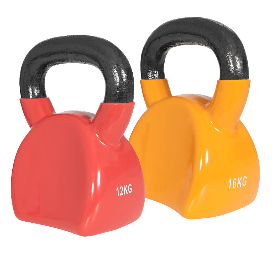 Kettlebell Set 12 kg, 16 kg Ergonomisch 28 kg