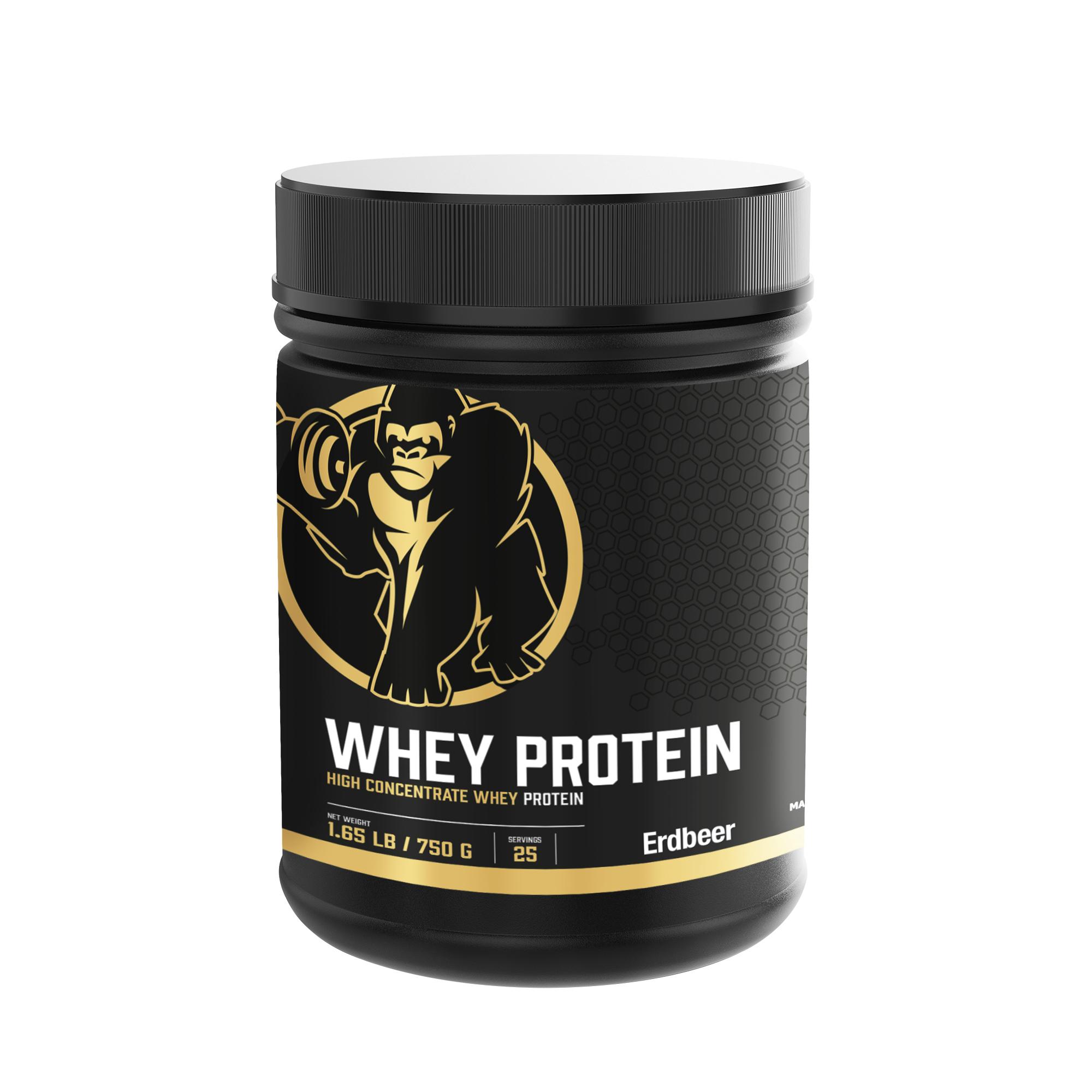 Whey Protein Erdbeer 750 g