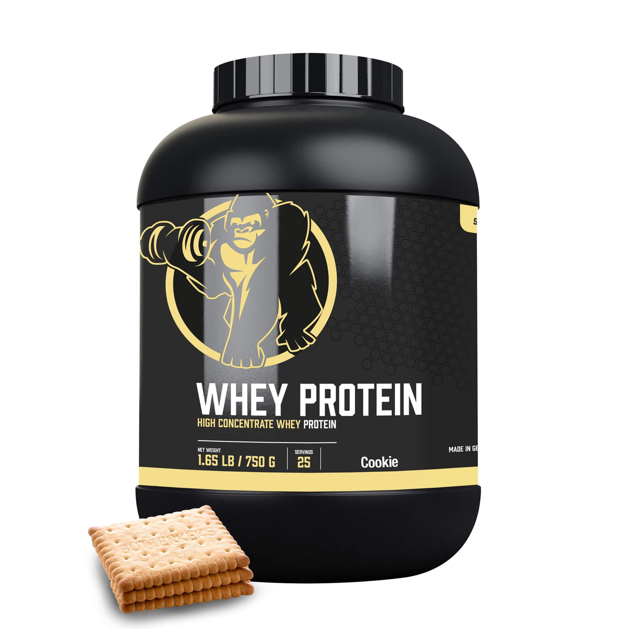 Gorilla Sports Whey Protein Konzentrat Butterkeks 750g 300001-00126-0188