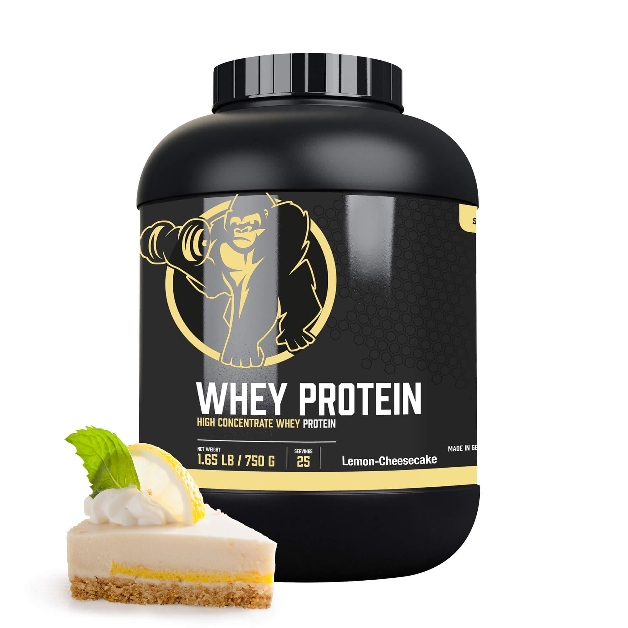Whey Protein Konzentrat Zitrone-Cheesecake 750g