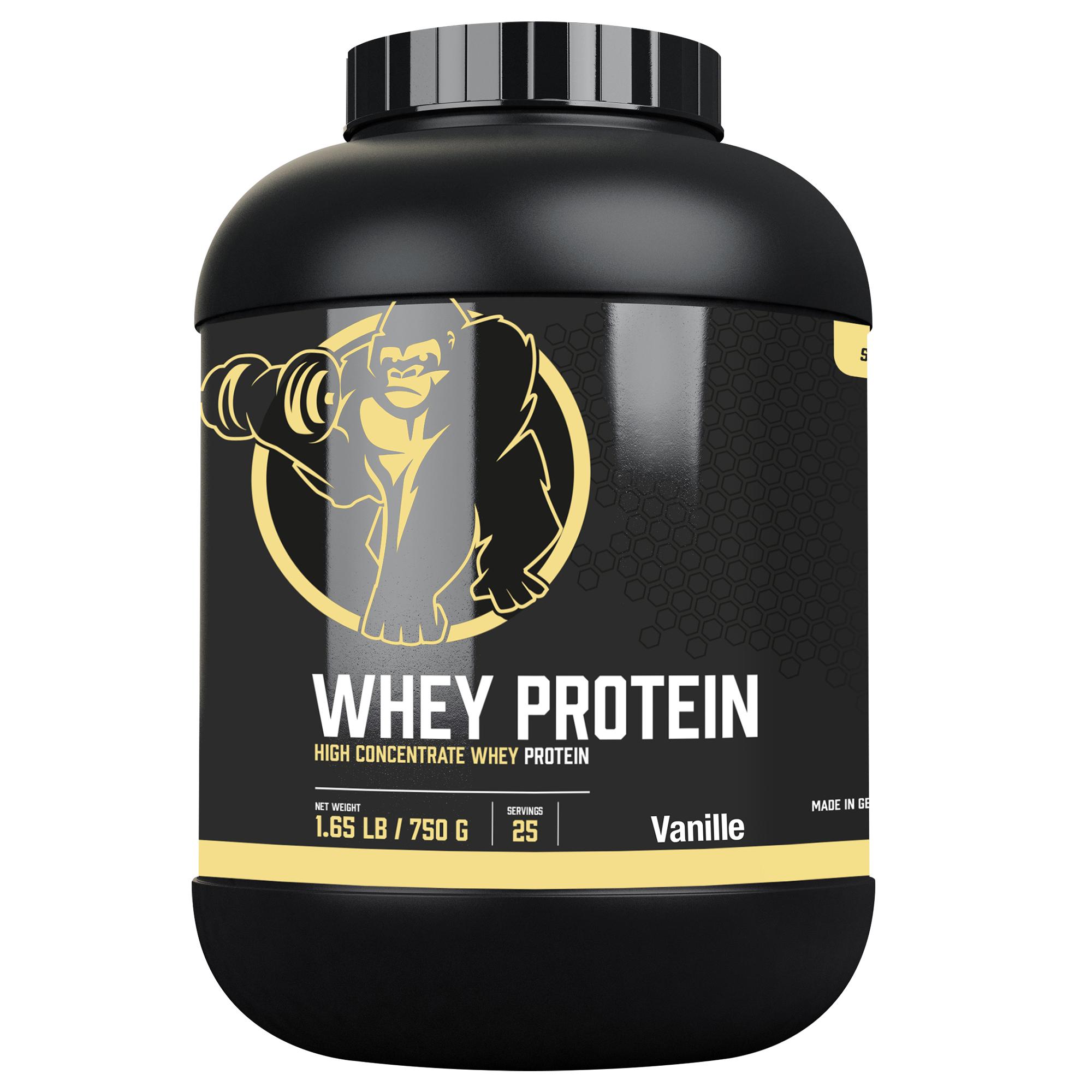 Whey Protein Vanille 750g