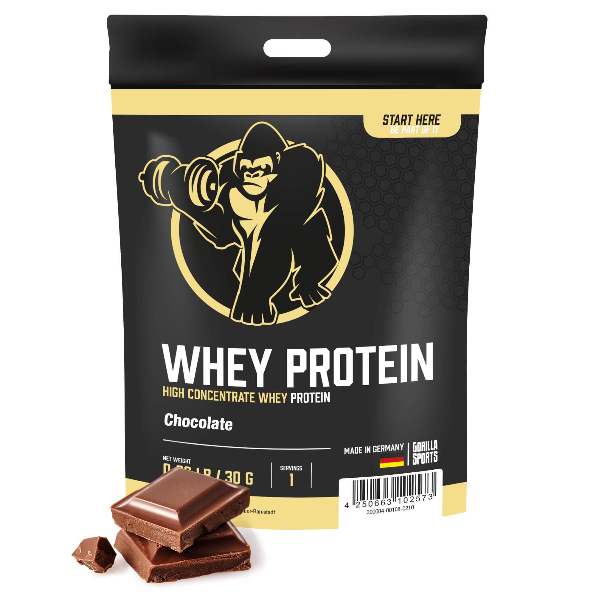 Whey Protein Schokolade 30g