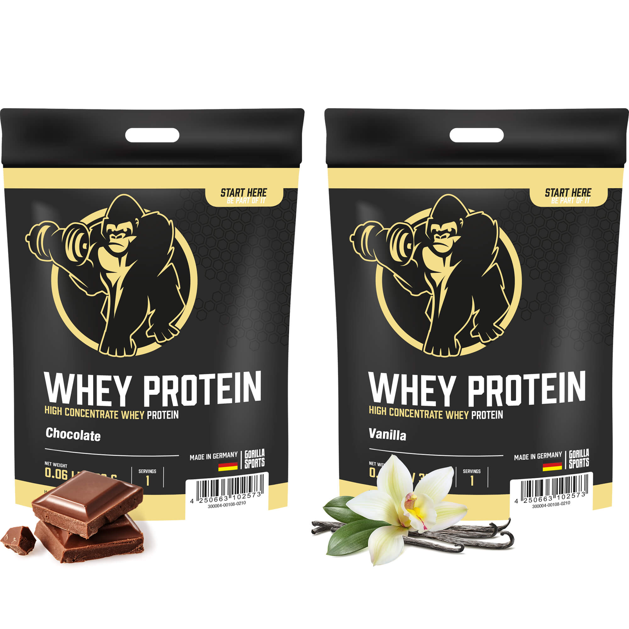 Whey Protein 30g Portionsbeutel