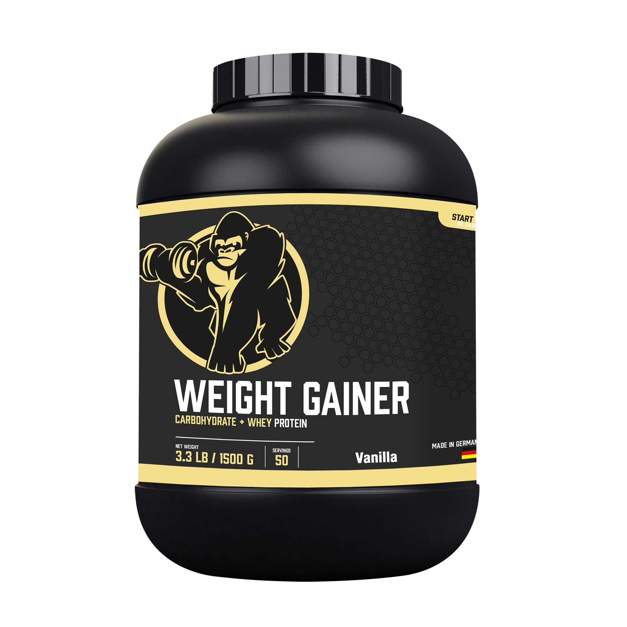 Weight Gainer Vanille 1,5 kg