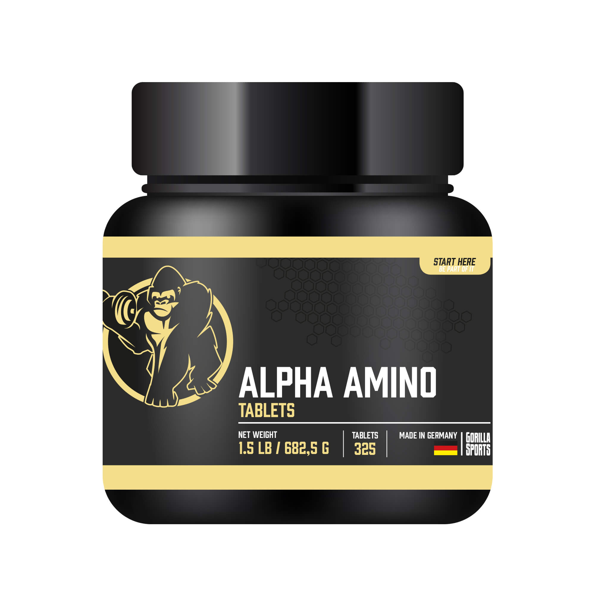 Gorilla Sports Alpha Amino 325 Tabletten 300008-00116-0206