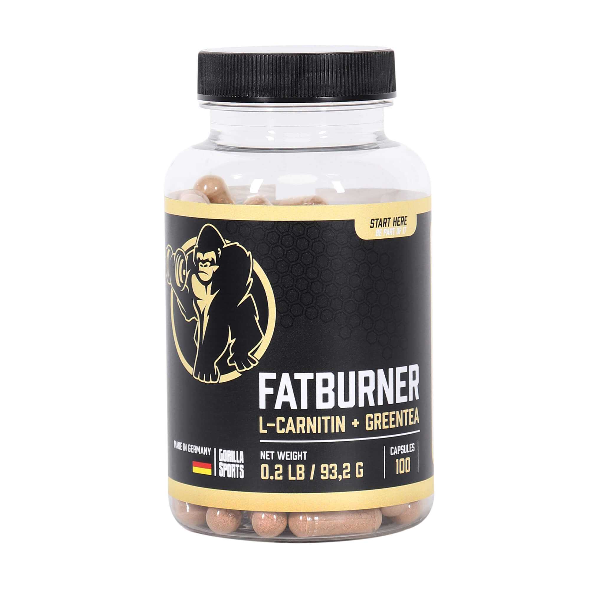 FatBurner mit L-Carnitin 100 Kapseln