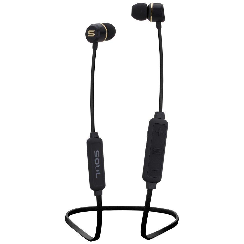 Soul Sportkopfhörer Bluetooth In-Ear Prime Wireless - Black