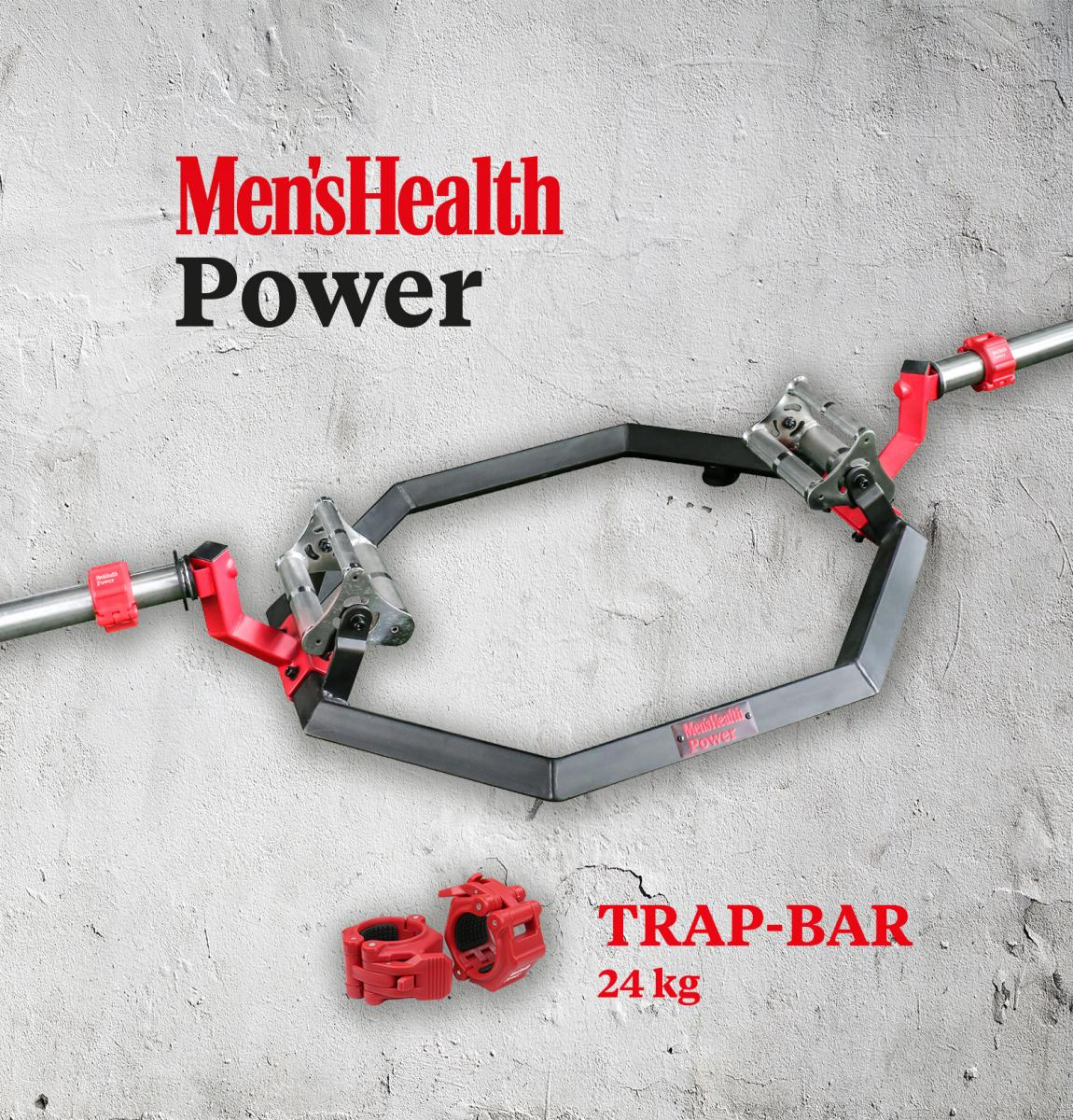 Lukadora Mens Health Trap Bar 24 kg LD-3700