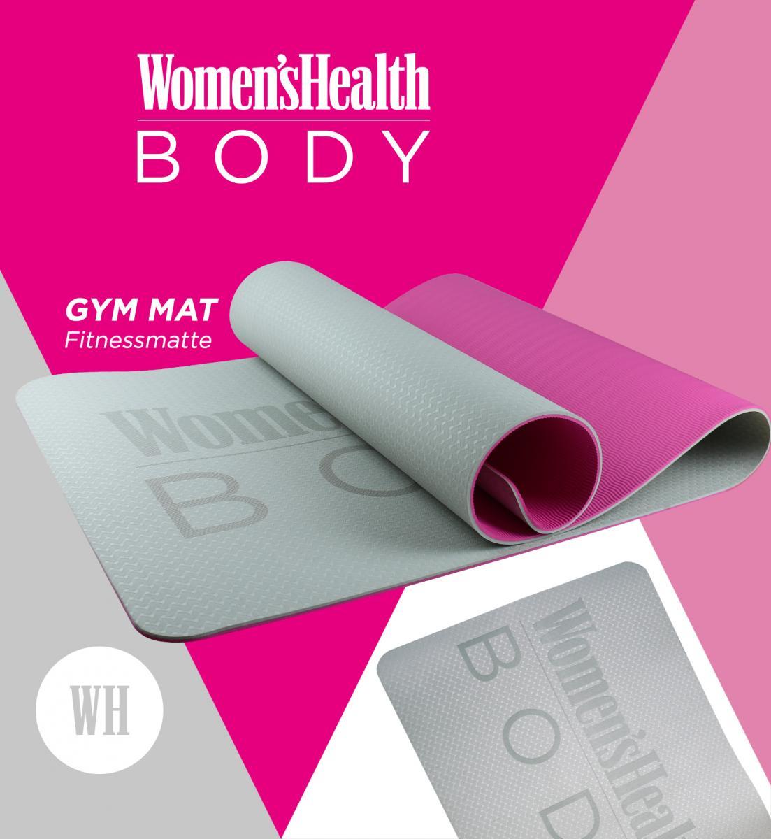 Lukadora Womens Health Fitnessmatte LD-4510