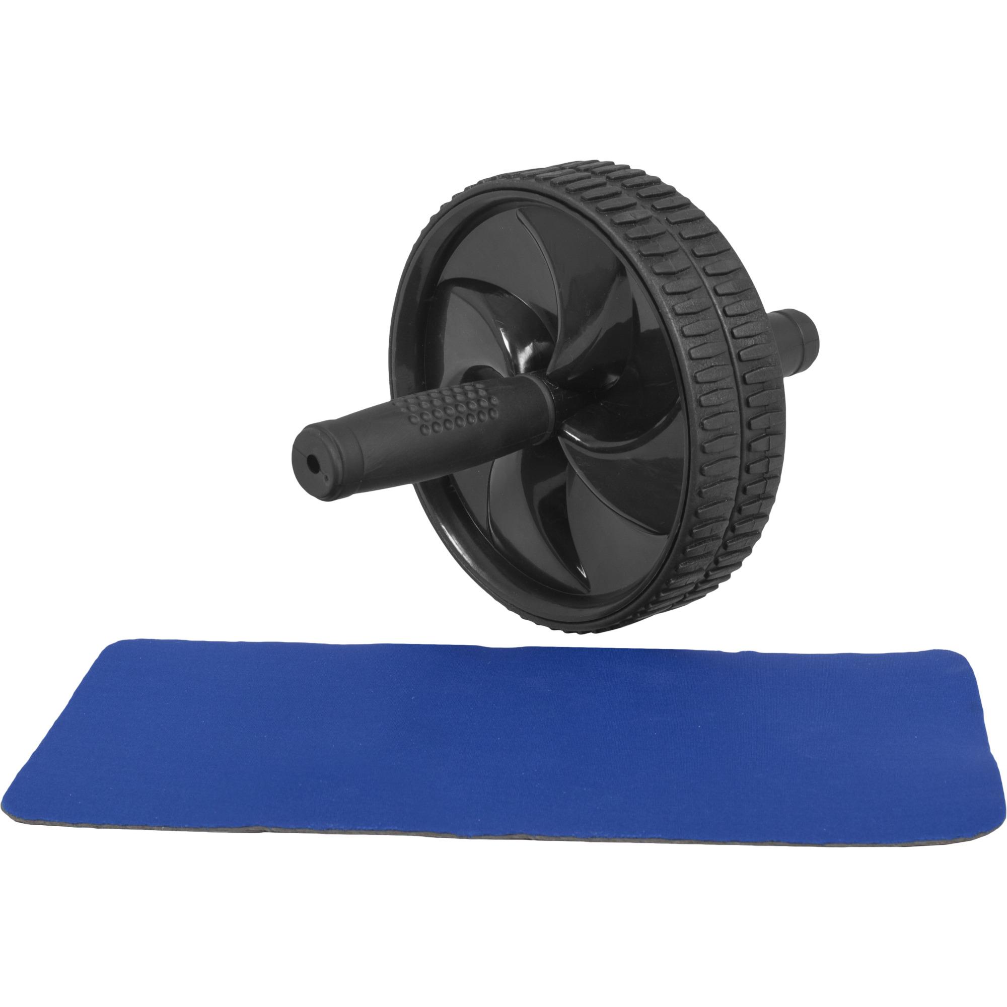 Gorilla Sports Ab Roller mit Unterlegmatte 100487-00019-0001