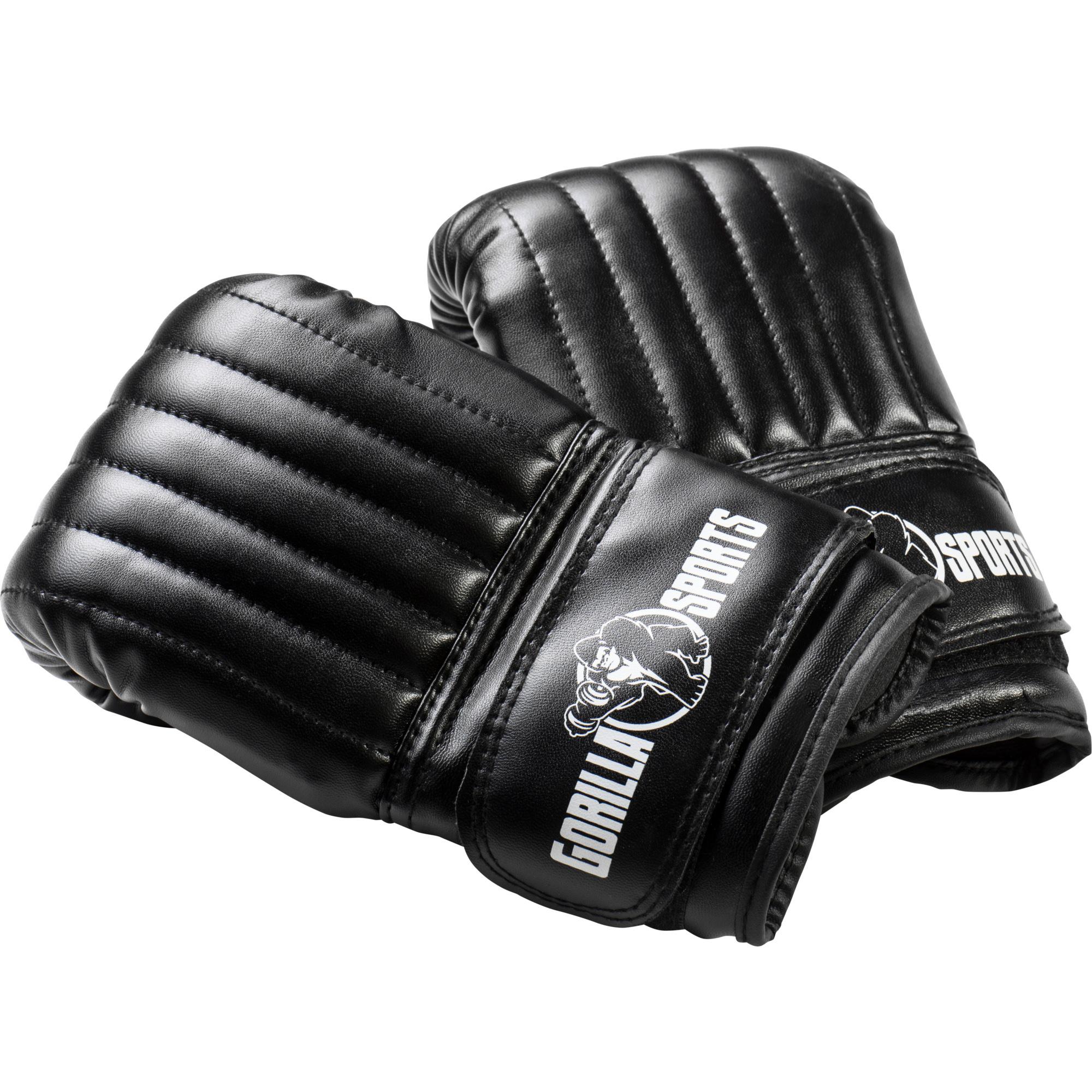 Boxhandschuhe dünn schwarz M